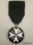 Medal [Officer of the Order of St John]; St John Ambulance Association; 20th century; 2010.417.3.2