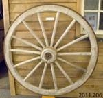 Wheel, dray; McIntosh, Daniel (Jnr); [?]; 2011.206