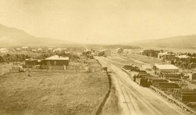 Photograph [Tahakopa Railway Siding]; [?]; [?]; CT85.1801f1