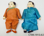 Dolls; [?]; 19th century; CT89.1915.4,5