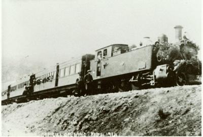 Photograph [Maclennan Railway Line Opening Day]; [?]; 1915; 2010.646