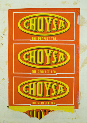 Packet, tea; Choysa Tea; 20th century; 2010.891
