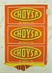 Packet, tea; Choysa Tea; 20th century; 2010.891