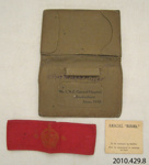 Wallet [Private A J T Miller]; [?]; c1916; 2010.429.8