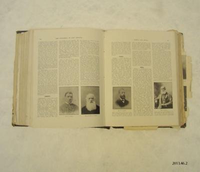 Book [Cyclopedia of New Zealand] ; The Ecyclopedia Co., Ltd.; [?]; 2013.46.2