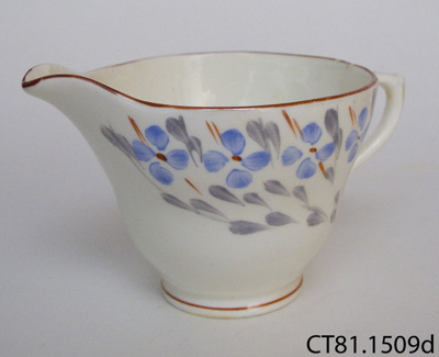 Jug, milk; Sutherland Pottery; CT81.1509d
