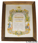 Certificate [A J Roger]; Mills, Dick & Co Ltd Litho, Dunedin; 30.09.1929; CT00.3046