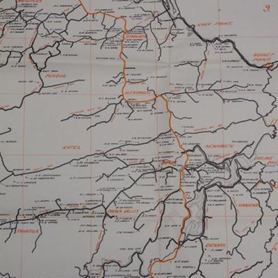 Map, Farm Location Map of South Otago, 1979; Balclutha Jaycees; 1979; 2010.334