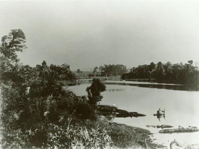 Photograph [Upper Catlins River]; [?]; 1901; CT89.1888.10