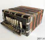Accordion ; Sovereign Accordeon; late 19th - early 20th century; 2011.4