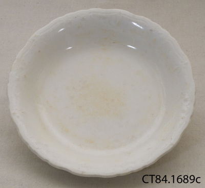 Bowl, soup [?]; John Maddock & Sons Ltd; Post 1896; CT84.1689c