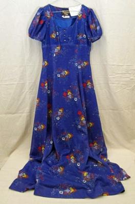Dress, evening; Val, Barbara; 1970s; CT99.3028.6