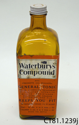 Bottle [Waterbury's compound]; Lambert Pharmacal Co Ltd; [?]; CT80.1239j