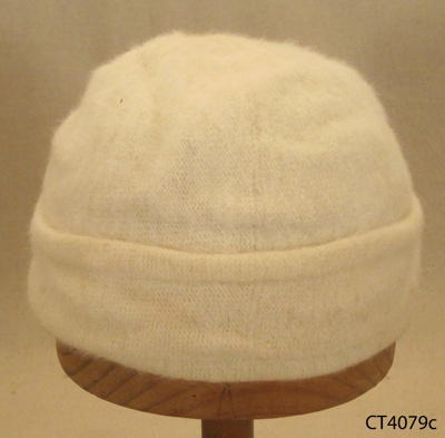 Hat, cloche-style; Kangol; 20th century; CT4079c