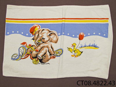 Pillowcase; [?]; 20th century; CT08.4822.43