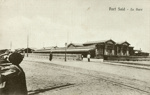 Postcard [Port Said - La Gare]; Arthur Tough; 17.06.1916; CT78.894d