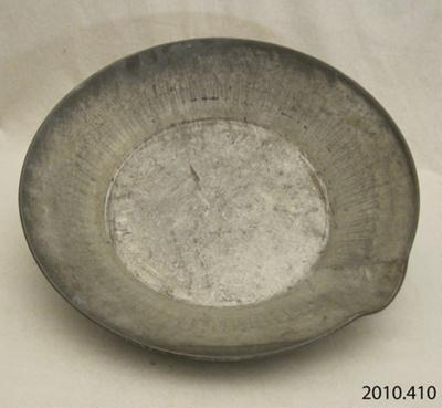 Pan, cream; [?]; [?]; 2010.410