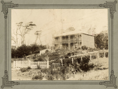 "Photograph [""Waitaha"", Kaka Point]; Randall, George T; c1906; 2010.529"
