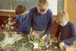 Photograph [Catlins Area School, sand saucers]; [?]; [?]; 2010.763