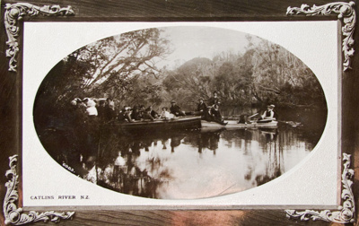 Photograph [Catlins River]; Muir & Moodie; [?]; 2010.783.12
