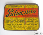 Tin, pulmona's; Stacey Bros Ltd; [?]; 2011.13