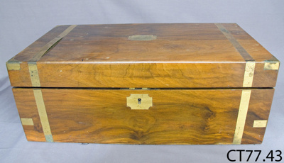 Desk, portable writing; 1912; CT77.43
