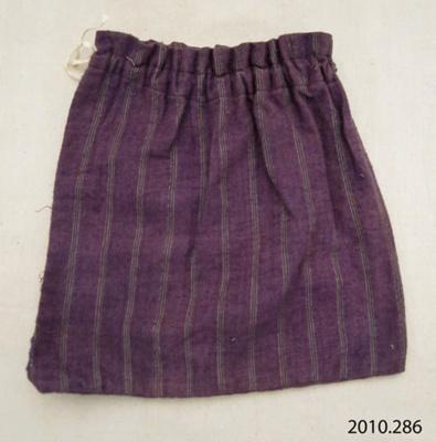 Bag, sewing; [?]; [?]; 2010.286