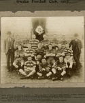 Photograph [Owaka Football Club, 1903]; [?]; 1903; CT78.357