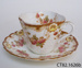Teacup and saucer; [?] G S & Co; CT82.1626b