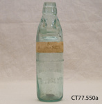 Bottle; Thomson & Co; [?]; CT77.550a
