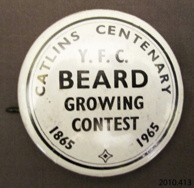Badge, commemorative; [?]; 1965; 2010.413