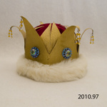 Crown, performance costume; [?]; [?]; 2010.97