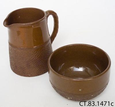 Jug and sugar basin; Arthur Wood & Son Ltd; Post 1928; CT83.1471c