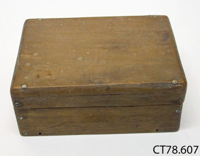 Box; Light, W; 20th century; CT78.607