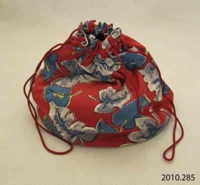 Bag, sewing; [?]; 1950; 2010.285
