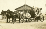 Photograph [Four-horse team with load]; James Eastes; [?]; CT79.1059c