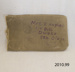 Envelope, canvas; [?]; early 20th century; 2010.99