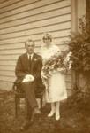 Photograph [Frank and Mabel Eason]; Eastes & Kerr, Owaka; c1920s; CT85.1804d