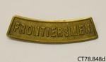 Badge, military; [?]; [?]; CT78.848d