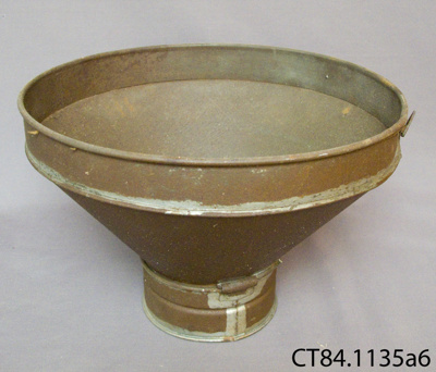 Strainer, milk; CT84.1136a6