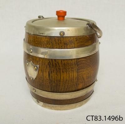 Barrel, biscuit; [?]; [?]; CT83.1496a