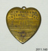 Badge, commemorative; Schwabs & Co; c1906; 2011.160