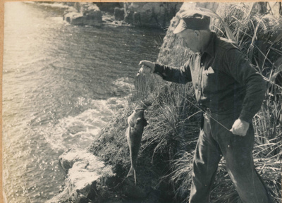 Louis Wintle at Fanal Island; 18-42