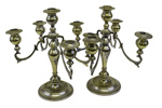 Candle Holders x 2; 17-150