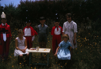 Children in Costume; 18-74