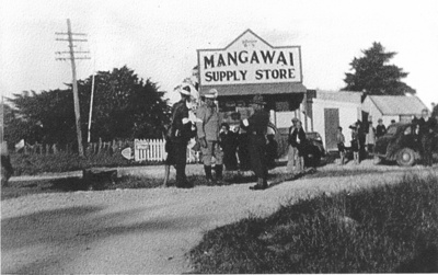 Mangawai Village Supply Store; 15-16