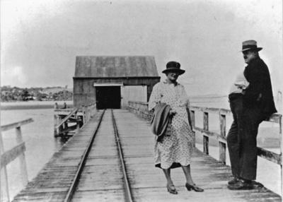 Mangawai Wharf; 15-12