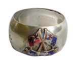 Napkin ring; 820