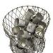 17-10 Mugs in Wire Basket