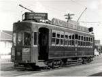 Tram 201 in Manukau Road, Auckland; 16-366